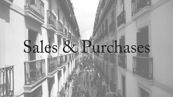 Sales & Purchaeses