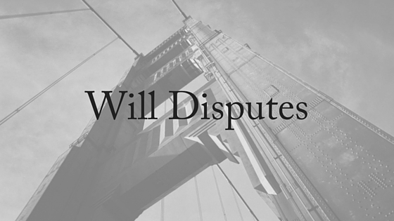 Will Disputes (1)