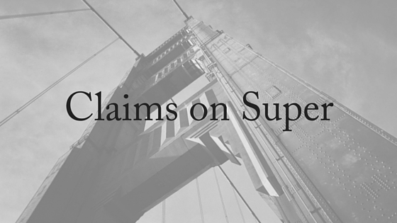 claims on super