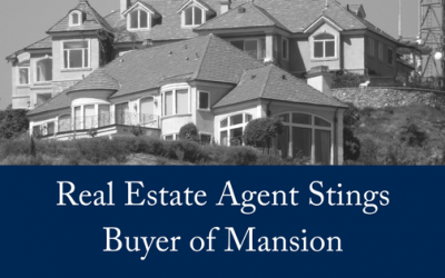 Real Estate Agent Stings Buyer of Mansion