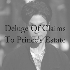 Deluge Of Claims To Prince's Estate (1)