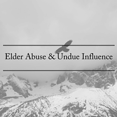 Elder Abuse & Undue influence (1)