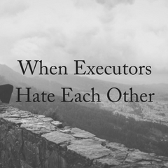 When Executors Hate Each Other