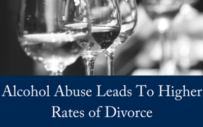 Alcohol Abuse Leads To Higher Rates of Divorce
