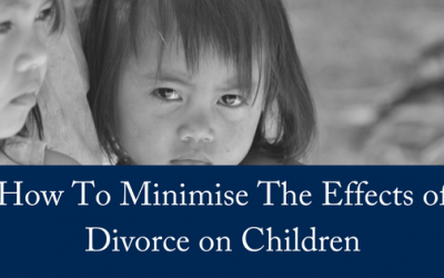 How To Minimise The Effects Of Divorce On Children